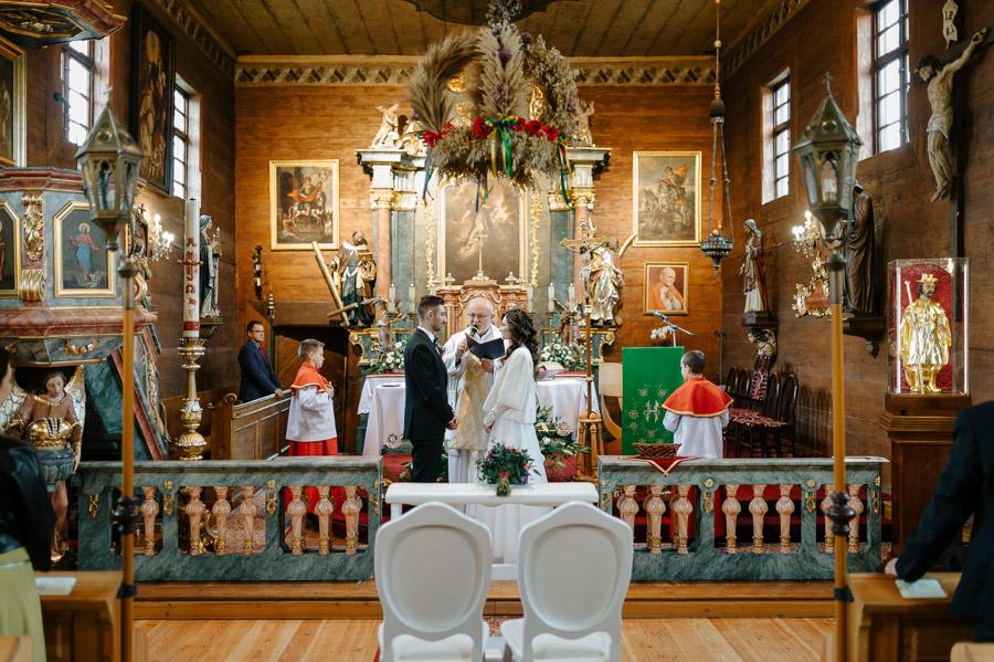Przysięga ślubna - fotograf ślubny